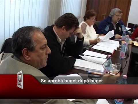 Se aprobă buget după buget