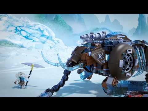 LEGO Chima - Maula jég mamut lépegetője