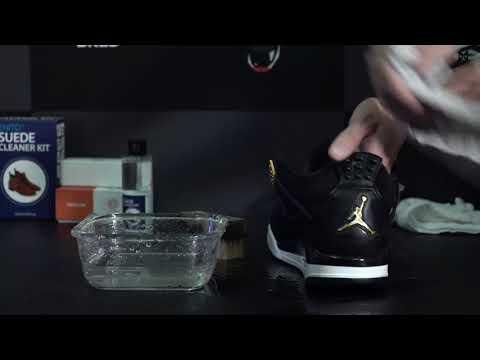 Jay 4 da lộn đỏng đảnh đến đâu, Enito Suede Cleaner cũng chiều! - vệ sinh giày Jay 4 da lộn