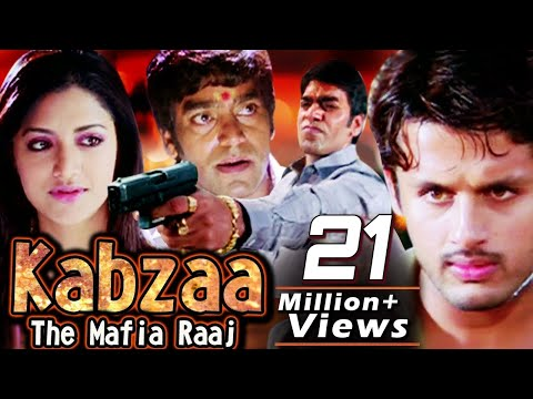 Raaj - Super hit action movie Kabzaa - The Mafia Raaj (2010) (Telugu Hindi Dub) Synopsis: The theme of the film revolves around the land grabbing mafia and how at times even the common man who becomes the victim decides to unite and revolt against such...