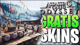 2 Gratis Skins in Assassin's Creed Odyssey - SCHNELL SEIN! :D