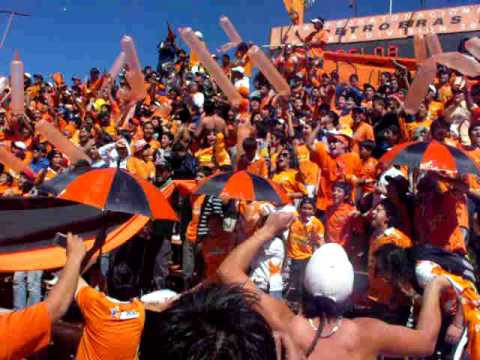 Llegada de la banda al Huracán Naranja - Huracan Naranja - Cobreloa