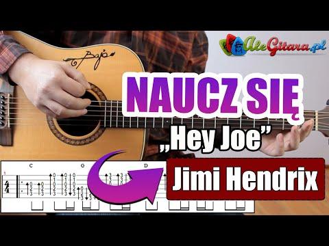 Jimi Hendrix - Hey Joe  | Kurs gry na gitarze v2 (5/15)