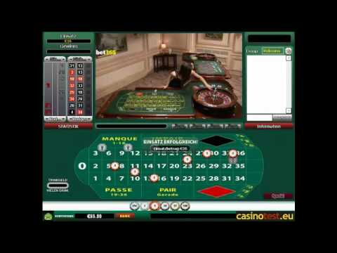 Euro Live Dealer French Roulette Video