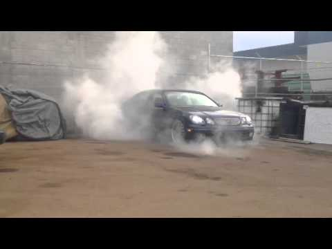 VIP Lexus GS400 Burnout