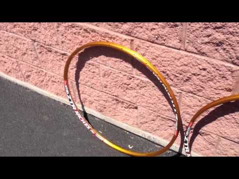 ex rims - Build Your Next Wheelset Using These Rims - http://www.rbikes.com/goto/wheels Below is a short video of what our custom anodized Stans ZTR gold anodized moun...