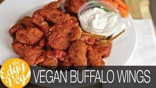 How to Make VEGAN Buffalo Hot Wings
