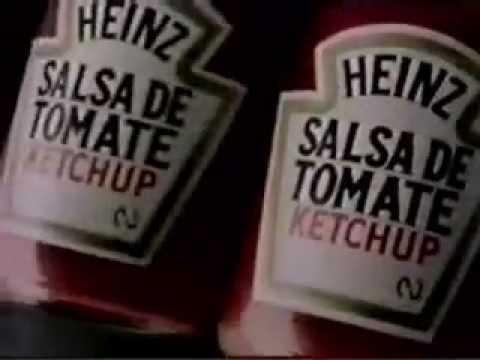 1988: Con Ketchup Heinz sabe mejor! El Ketchup Heinz es una salsa ideal para dar sabor y acompañar a una gran diversidad de recetas y platos.
