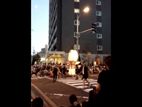 弘前ねぷた祭り2014(3日目) 9 弘前みなみ幼稚園