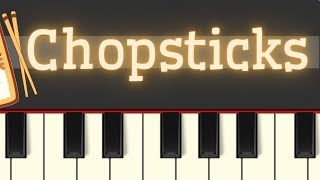 Video Easy Piano Tutorial: Chopsticks MP3, 3GP, MP4, WEBM, AVI, FLV Juni 2018