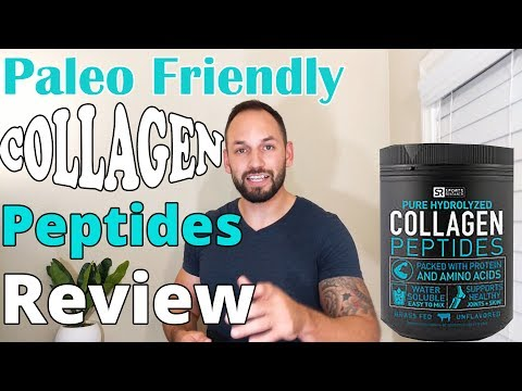 Collagen Peptides Paleo Diet Friendly Protein Shake by Sports Research  Review