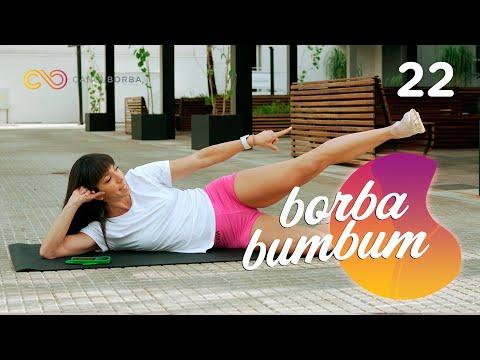 O melhor exercício pra empinar o bumbum - treino de 5 minutos ! #BorbaBumbum 22 - Carol Borba
