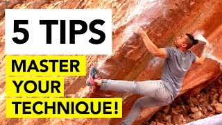 5 Ways to MASTER your Climbing Technique by  rockentry