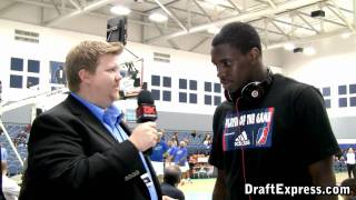 DraftExpress Exclusive - Jamine Peterson Interview at the 2011 D-League Showcase