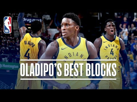 Video: Victor Oladipo's Best Blocks with the Indiana Pacers!