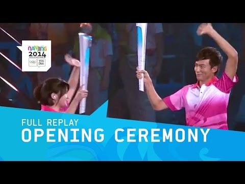 opening - Watch the Opening Ceremony of the Nanjing Youth Olympics 2014. Subscribe to the Olympic channel (http://bit.ly/1dn6AV5) and follow the best of the Nanjing 2014 YOG. Don't miss a single...