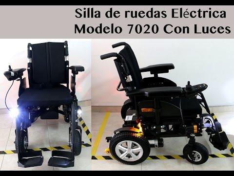 sillas de ruedas electricas los pinos