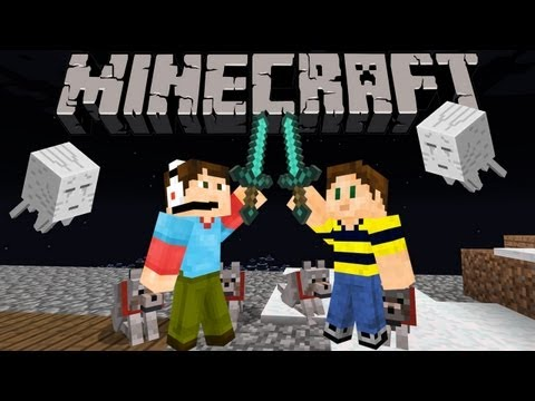 Minecraft Adventures in Scotti Arabia with Zack Scott - Ghast Problem