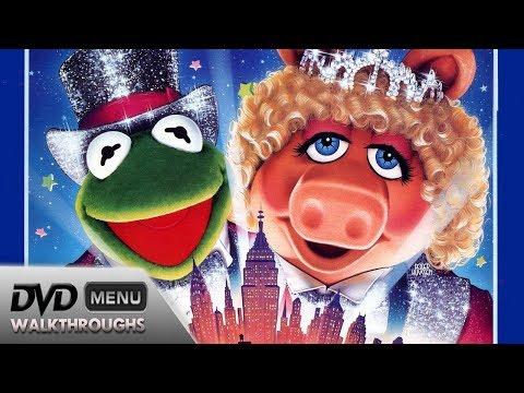 The Muppets Take Manhattan (1984, 2001) DvD Menu Walkthrough