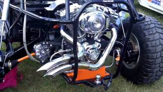 2. VW Harley Davidson Road King Engine at Bug Jam 2009