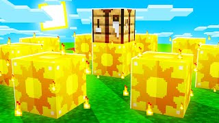 Minecraft Sun LUCKY BLOCKS with SkyDoesMinecraft & JeromeASF (Hunger Games)