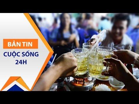 Đa phần bệnh nhân ung thư tử vong vì rượu | VTC1 - Thời lượng: 65 giây.