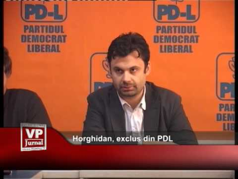 Horghidan, exclus din PDL