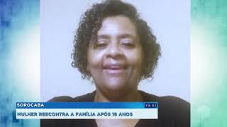 Moradora de Sorocaba reencontra família após 16 anos