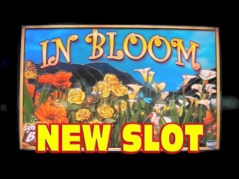 In Bloom NEW SLOT MACHINE FIRST LOOK Las Vegas Slots Win