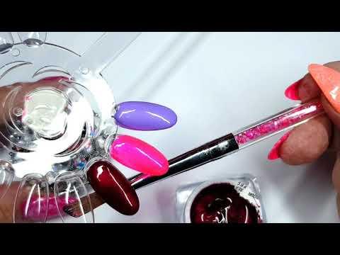 Nageldesign - Blossom Nailcouture presents Die neuen Farbgele Fluffily, Jelly Pink und Scarlett