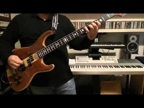 Bass Cover - Ultravox - The Voice - With Alembic Elan Bass