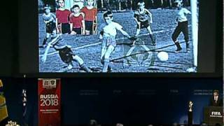Full Video Of Russia's 2018 FIFA World Cup Bid Presentation In Zurich