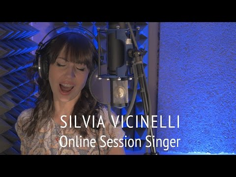 Session Singer Silvia Vicinelli (online recordings) - Demo Reel