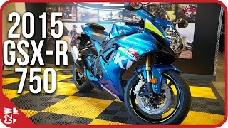5. 2015 Suzuki GSX-R 750 | First Ride (4k)