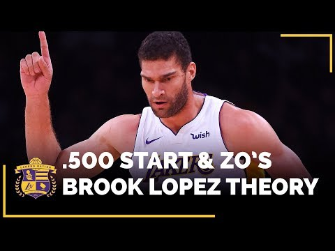 Video: Lakers .500 Start & Lonzo's Hilarious Brook Lopez Theory