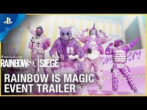 Rainbow Six Siege - Rainbow is Magic Event | PS4 - Thời lượng: 41 giây.