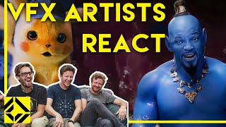 Video VFX Artists React to Bad & Great CGi 2 MP3, 3GP, MP4, WEBM, AVI, FLV Juni 2019