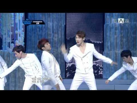 [Live 720p] 120329 Shinhwa - Venus (Comeback Stage @ M!Countdown) (видео)