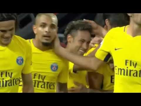 NEYMAR GOAL Guingamp vs PSG 0 3 Ligue 1 13 08 2017 HD   YouTube