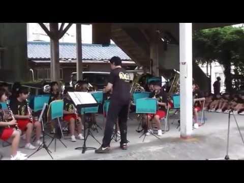 第8回大橋ふうりん祭 行橋中学校吹奏楽部