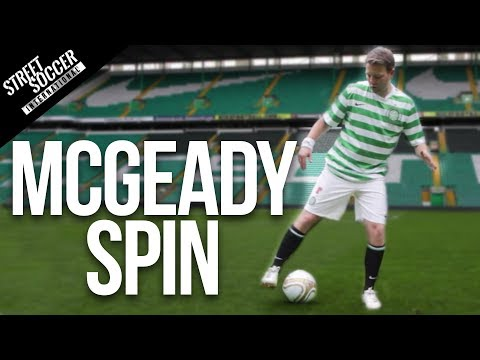 soccer - Learn the Aiden McGeady Spin. Also can be the Ribery Spin or roulette. New tutorials every week. Please Subscribe to my channel http://bit.ly/subSTR Please s...