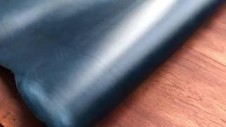 Blue Buttero leather - Conceria walpier