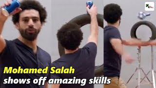Watch: Liverpool star Mohamed Salah shows off amazing skills in behind-the-scenes Pepsi shoot