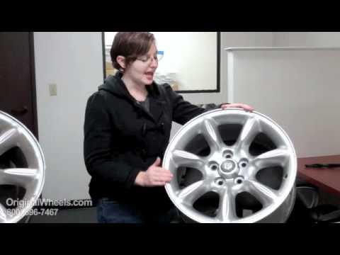 XK8 Rims & XK8 Wheels - Video of Jaguar Factory, Original, OEM, stock new & used rim Co.