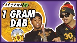 1 Gram Dab Challenge! | Loaded Up by Loaded Up