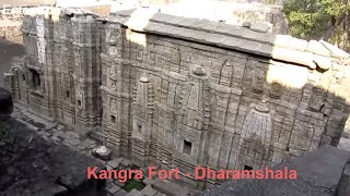 Kangra India  city photos gallery : India Himachal Pradesh 400 Year Old KANGRA Fort - Dharamshala Sight seeing Attraction
