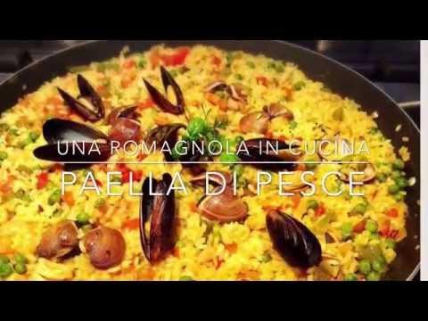 paella di pesce - ricetta
