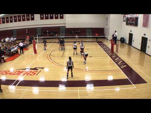 Goucher/Moravian - 10/6/13 - Set 2 (25-17)