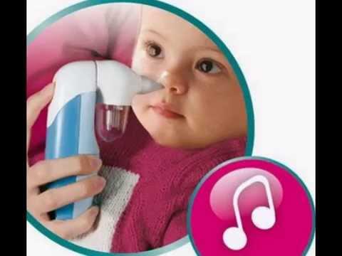 Aspiratore nasale elettrico per bambini Flaem con melodie - Aspiramuco elettrico musicale