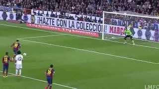 Alle Messi-Treffer gegen Real Madrid (bis 2014)